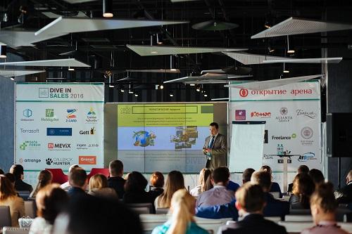 Состоялся бизнес-форум по продажам Dive In Sales 2016.