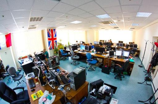 Виртуальная экскурсия по офису