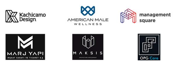 Геометрия в дизайне логотипов