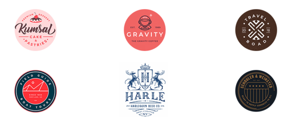 Эмблемы в дизайне логотипов
