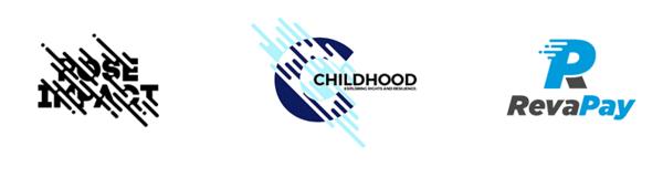 Параллельные линии в логотипе