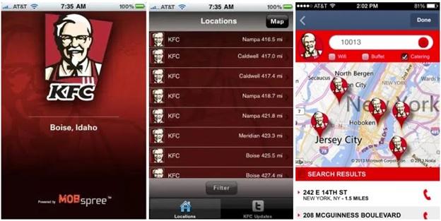 KFC: СМС кампания с применением геолокации