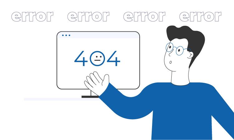 404 страница: Как удержать посетителя
