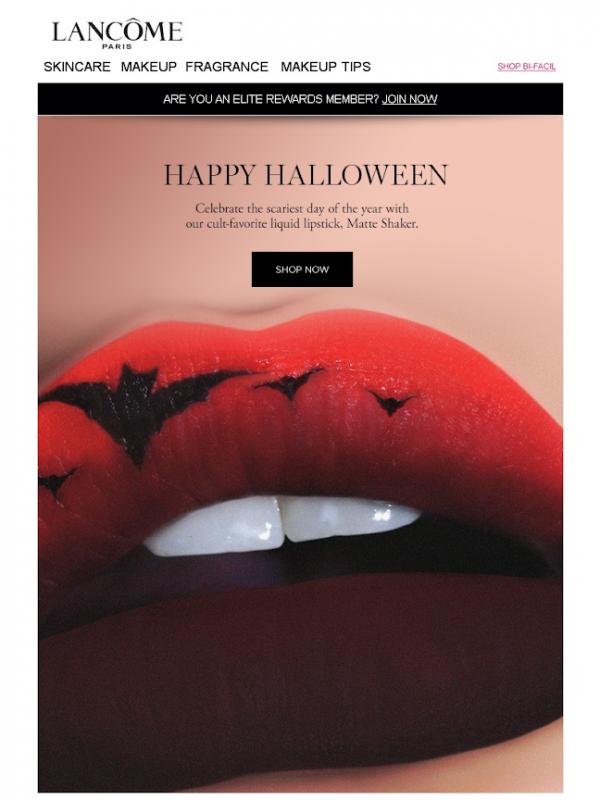 Хэллоуин маркетинговая кампания