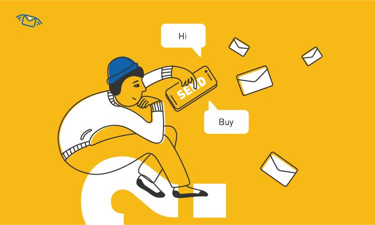 Как отправить СМС-рассылку, если нет своей базы контактов?