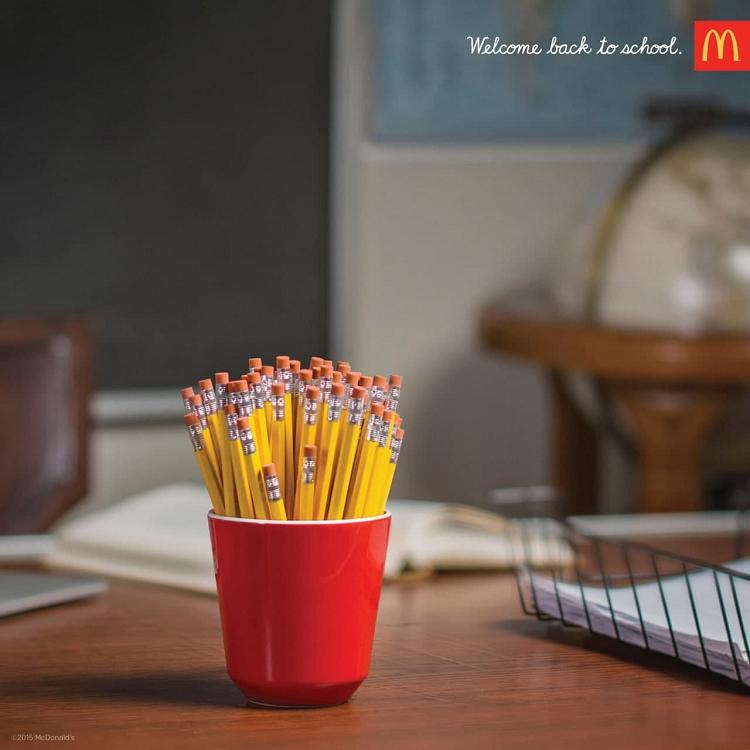 Пример имейл реклама от McDonalds