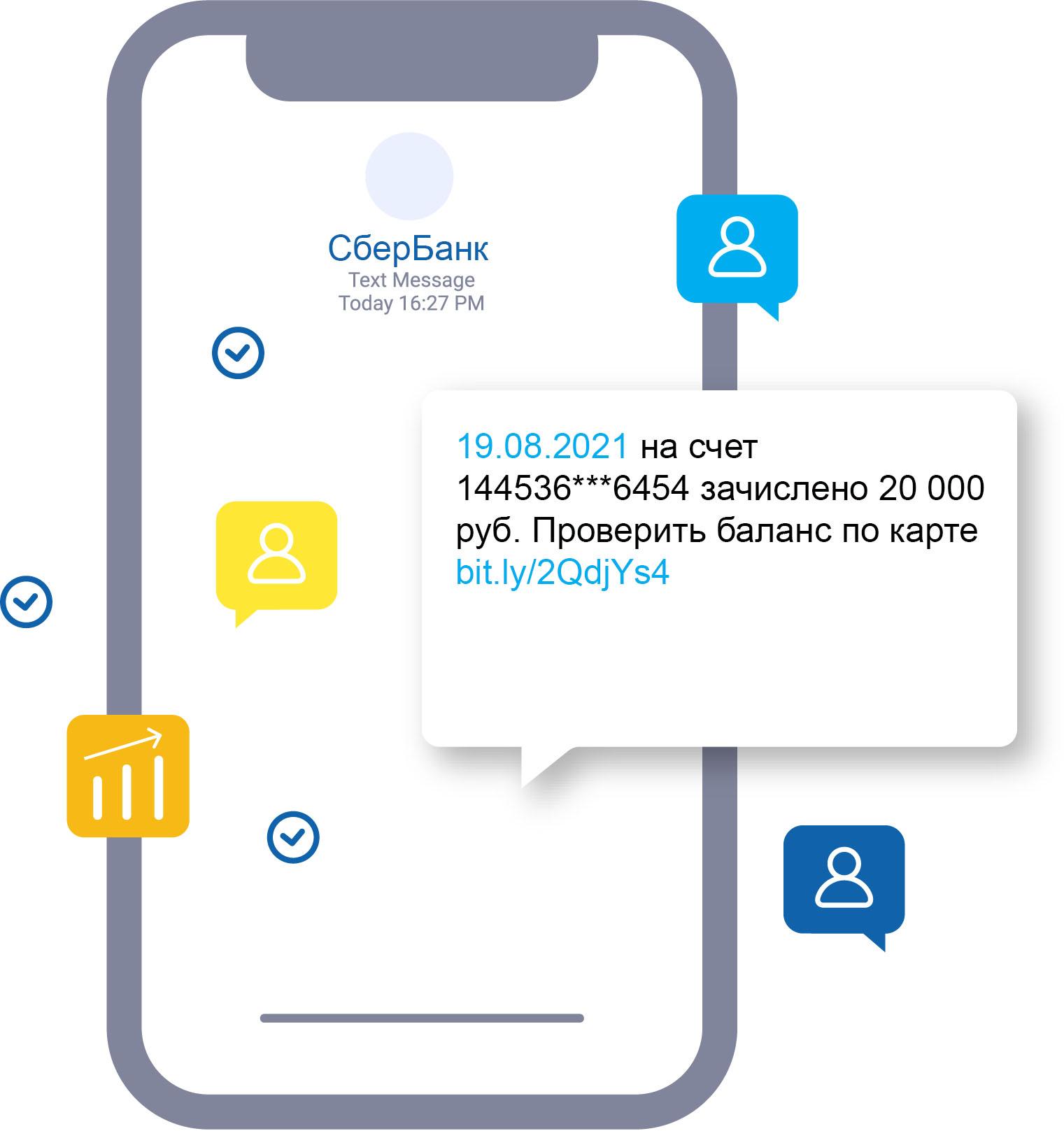 СМС напоминание клиенту